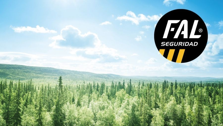 Fal Seguridad achieves a significant reduction in CO2 emissions thanks to clean energy