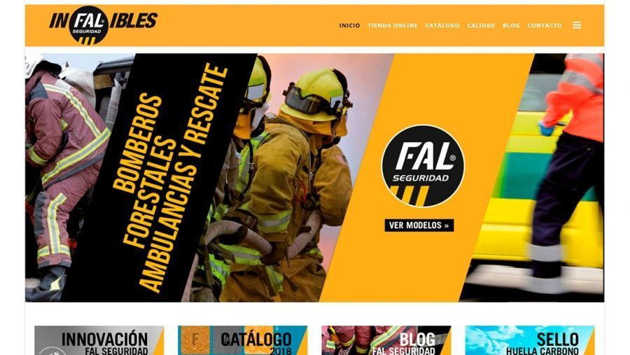Fal Seguridad launches its new website